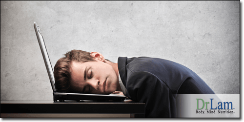 A man suffering from Adrenal Fatigue