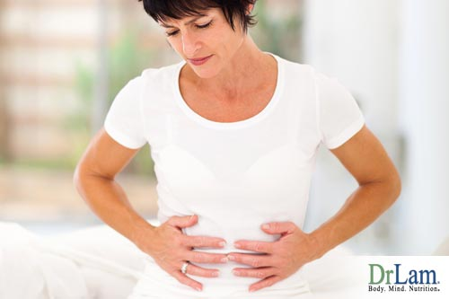 About chronic constipation and stomach pain