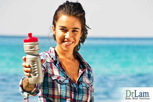About dehydration prevention and carrying a water bottle