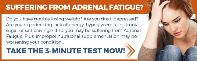 Adrenal exhaustion anxiety