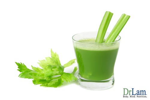As part of the anti anxiety herbs family, Celery can be beneficial to your health