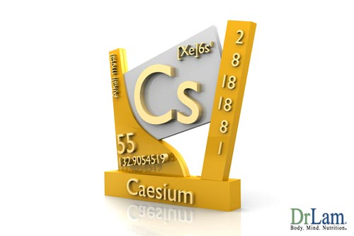 Cesium is one of common toxic metals that can cause heavy metal poisoning
