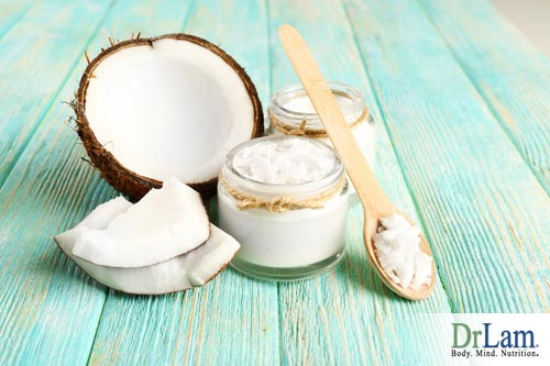 The importance of fat derived from coconut oil is to absorp lutein