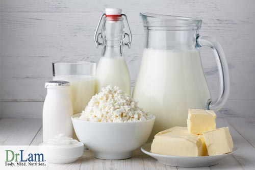 Dairy foods often cause difficulties in metabolism that interfere with the detoxification diet