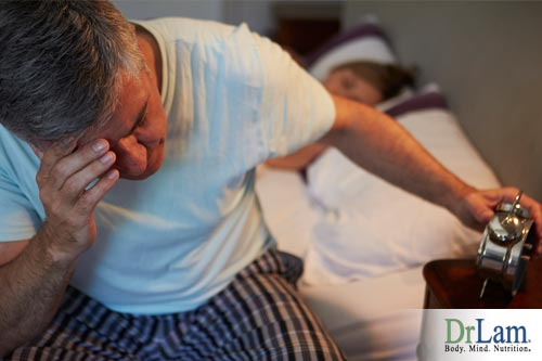 Sleep disruption and andropause symptoms