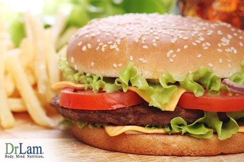 Fast food is not good for Adrenal Fatigue