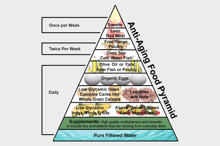 Understanding high cholesterol and Anti-Aging Food Pyramid