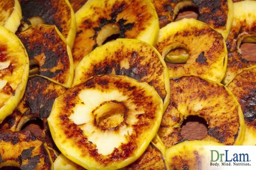 Grilled Apple
