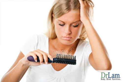 One symptom that is often hard to cope is the hair loss associated with adrenal fatigue