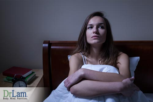 Insomnia is one of the hormone imbalance symptoms