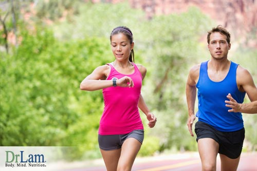 Stamina building exercises and jogging