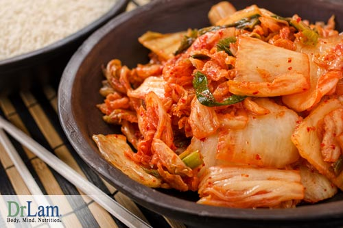 Benefits from probiotics; Fermented foods