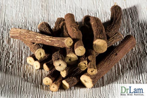 Allergy therapy in licorice root form