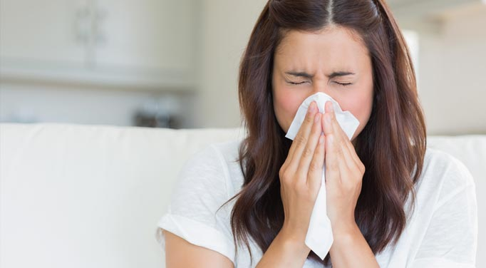 Stop sneezing with allergy therapy