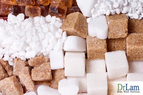 Sugar and aging: Surprisingly sugar is about 20-25% of our daily caloric intake.