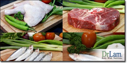 Meat, fish and dairy are excellent sources of methionine