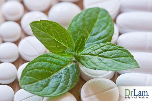 Herbal pain killers can help relieve pain.