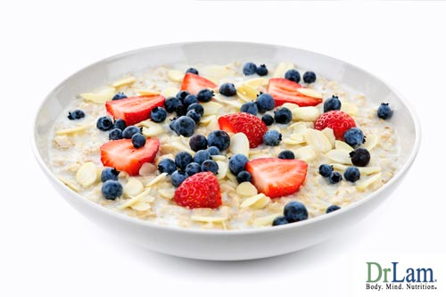 Oats are a great source unrefined carbohydrates