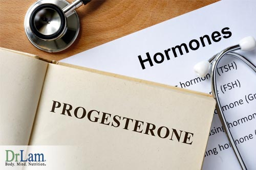 Estrogen dominance can be caused by lack of progesterone