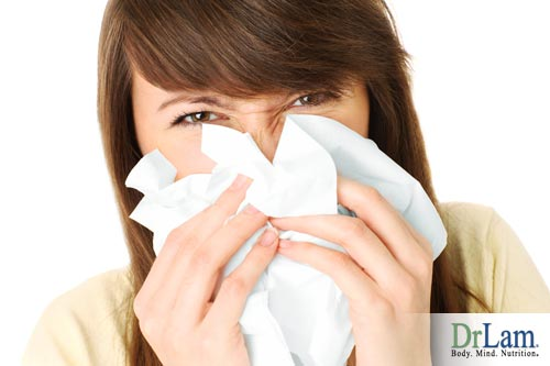 Reduce inflammation using remedies for hayfever