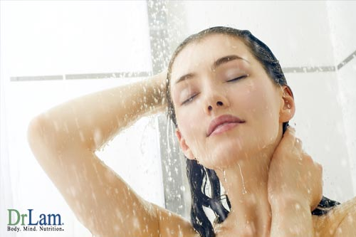 Allergy therapy can be as simple as a shower