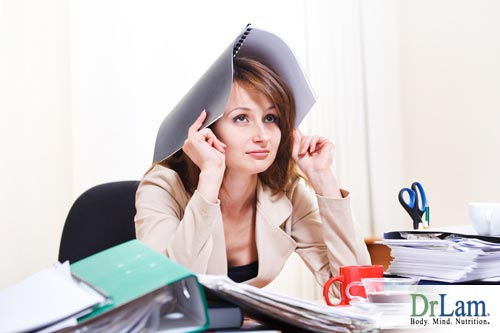 Stress can increase progesterone side effects