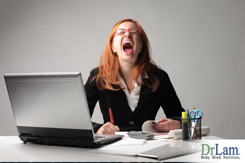 The imbalances and disruptions caused by Adrenal Fatigue may cause a wired state