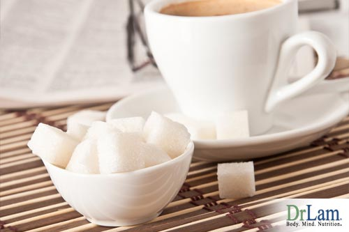 Sugar exacerbates coffee's negative effects