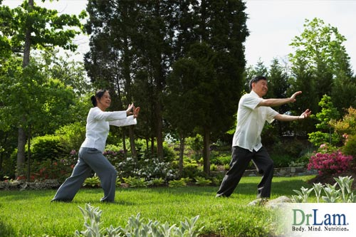 A neurotransmitter imbalance can be improved by Tai-chi