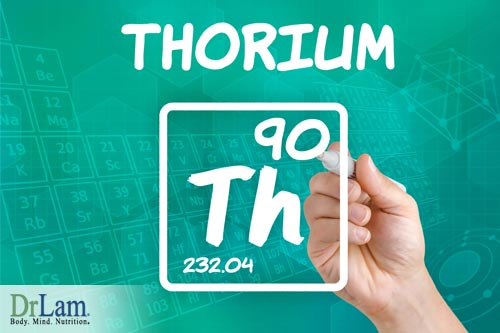 Thorium is one of common toxic metals that can cause heavy metal poisoning