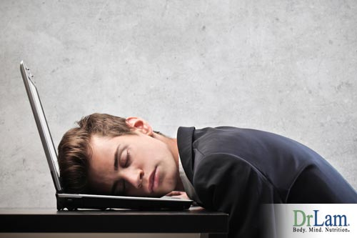 A man suffering from Adrenal Fatigue and hypoglycemia symptoms