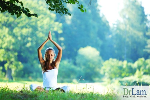 Chemical imbalance can be eased with the use of proper use of yoga and breathing techniques and also by being mindful