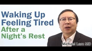 Waking up Feeling Tired caused by Adrenal Fatigue