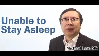 Sleep Maintenance Insomnia caused by Adrenal Fatigue