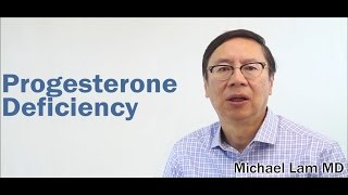Progesterone Deficiency Is Often Associated With Adrenal Fatigue