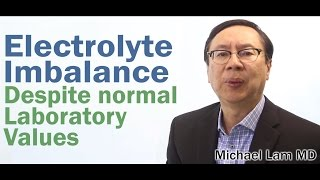 Electrolyte Imbalance caused by Adrenal Fatigue