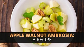 Apple Walnut Ambrosia: A Recipe