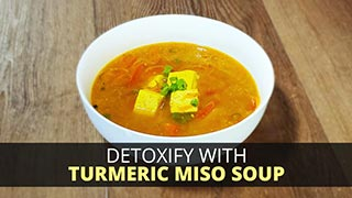 Detoxify with Turmeric Miso Soup