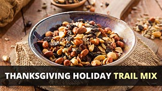 Thanksgiving Holiday Trail Mix